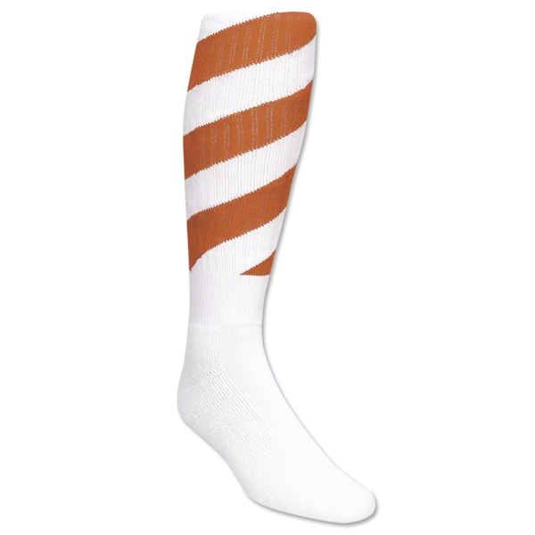Red Lion Tornado Socks (White/Orange )
