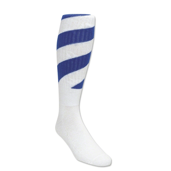 Red Lion Tornado Socks (White/Royal)