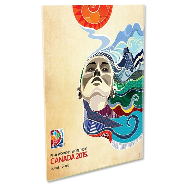 2015 FIFA Women's World Cup Canada(TM) Official Poster Acrylic