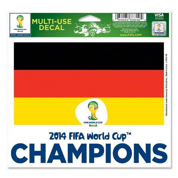 2014 FIFA World Cup Brazil(TM) Winner 5x6 Decal