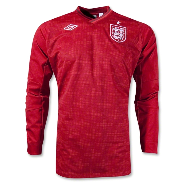 England 12/13 LS Home Keeper Jersey