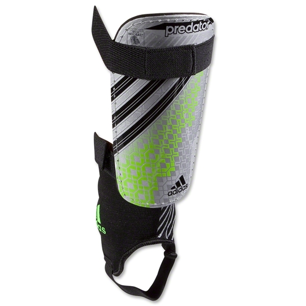 adidas Predator Replique DS Shinguard (Metallic Silver)