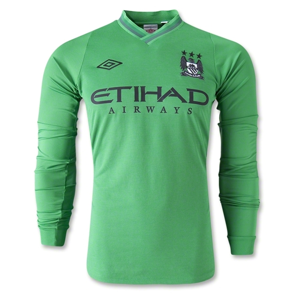 Manchester City 12/13 LS Home Goalkeeper Jersey
