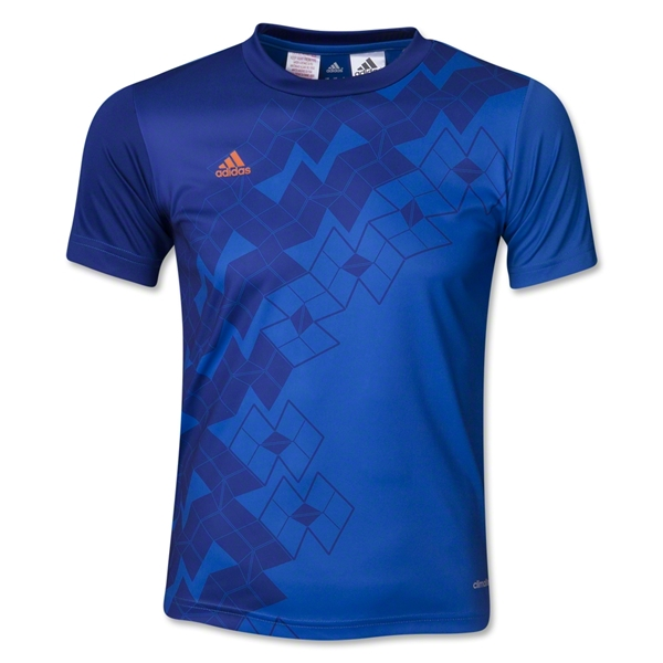adidas Youth Predator ClimaLite T-Shirt (Royal)