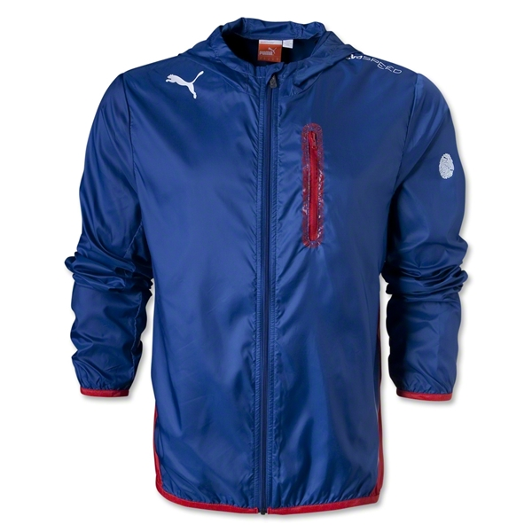 PUMA evoSPEED Performance Jacket (Blue)