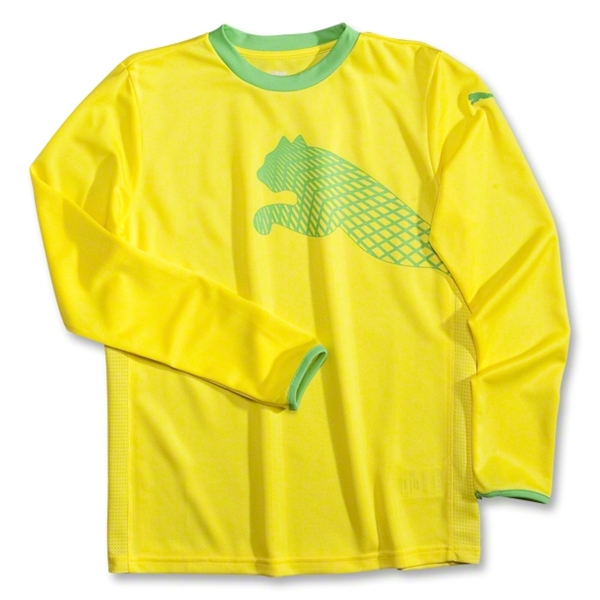 PUMA Cat Youth Goalkeeper Jersey (Yellow)