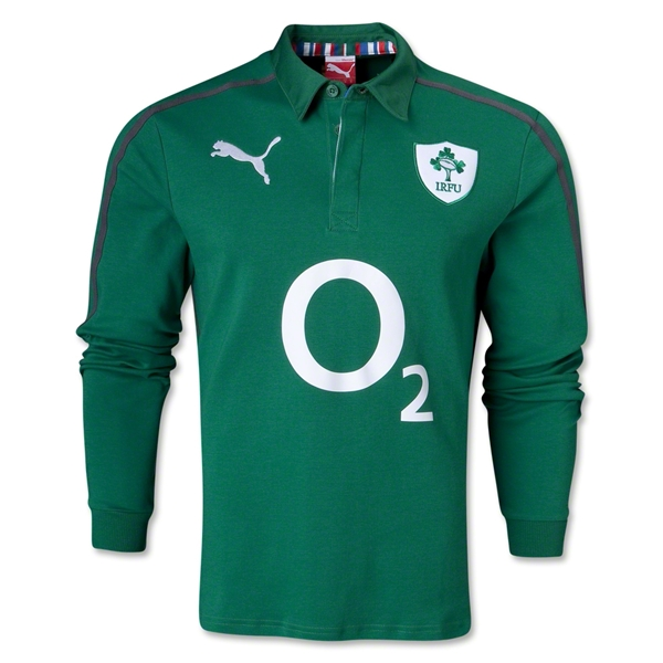 Ireland 13/14 Home Supporters LS Rugby Jersey