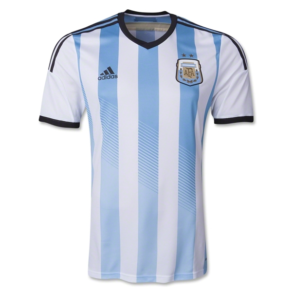 Argentina 2014 Authentic Home Soccer Jersey