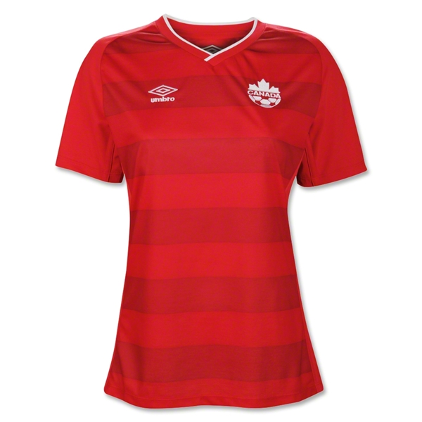 Canada 2014 Women's Home Soccer Jersey