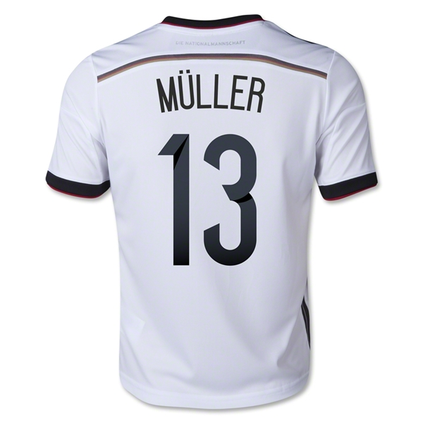 Germany 2014 MULLER Youth Home Soccer Jersey