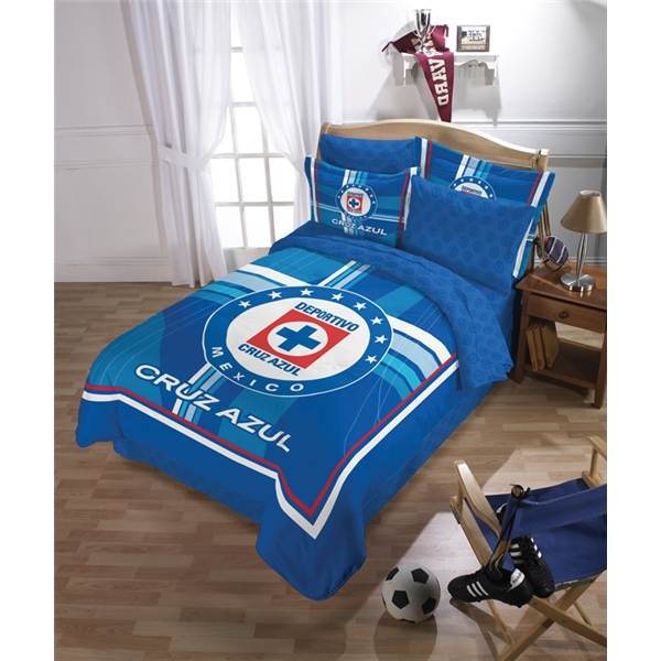 Cruz Azul Comforter Set (Full)