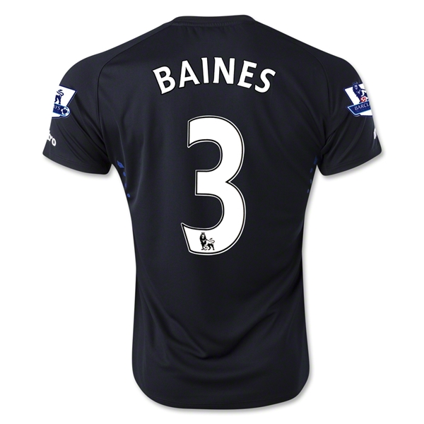 Everton 14/15 BAINES Away Soccer Jersey