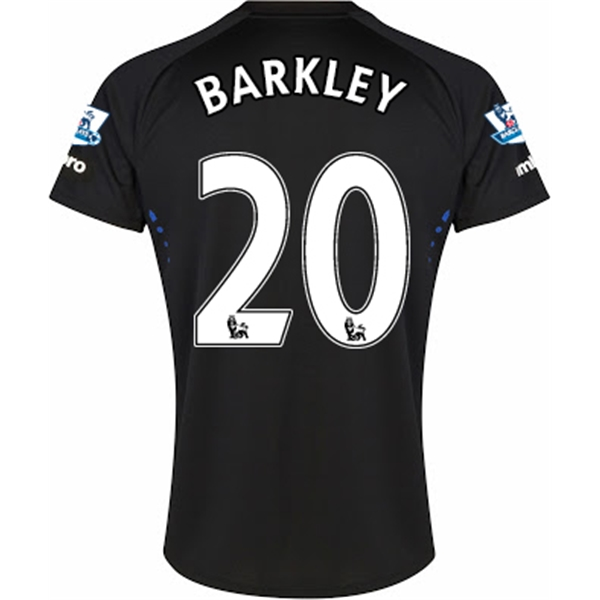 Everton 14/15 BARKLEY Away Soccer Jersey