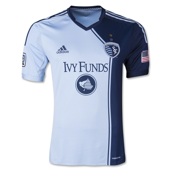 Sporting KC 2013 Authentic LS Primary Soccer Jersey