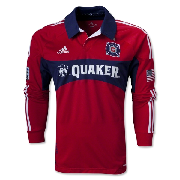 Chicago Fire 2013 Authentic LS Primary Soccer Jersey