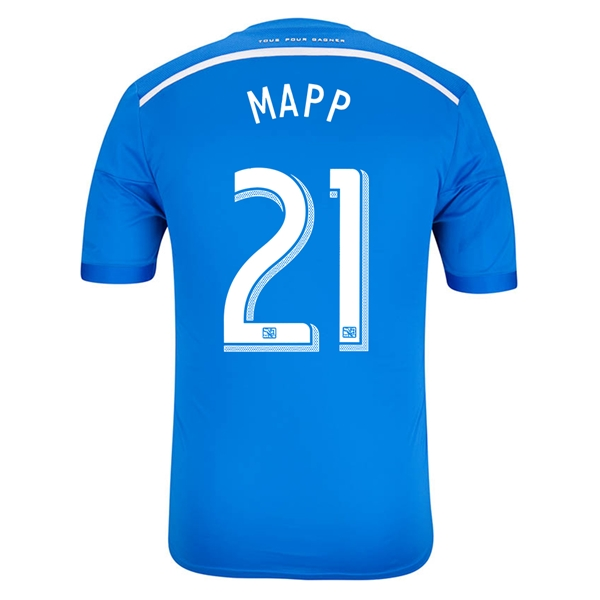 Montreal Impact 2014 MAPP Authentic Primary Soccer Jersey