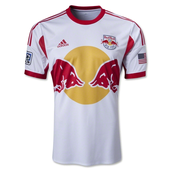 New York Red Bulls 2013 Authentic Primary Soccer Jersey