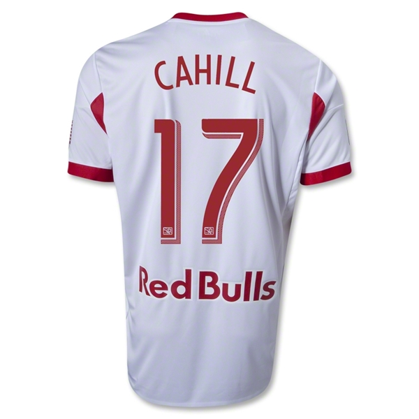 New York Red Bulls 2013 CAHILL Authentic Primary Soccer Jersey
