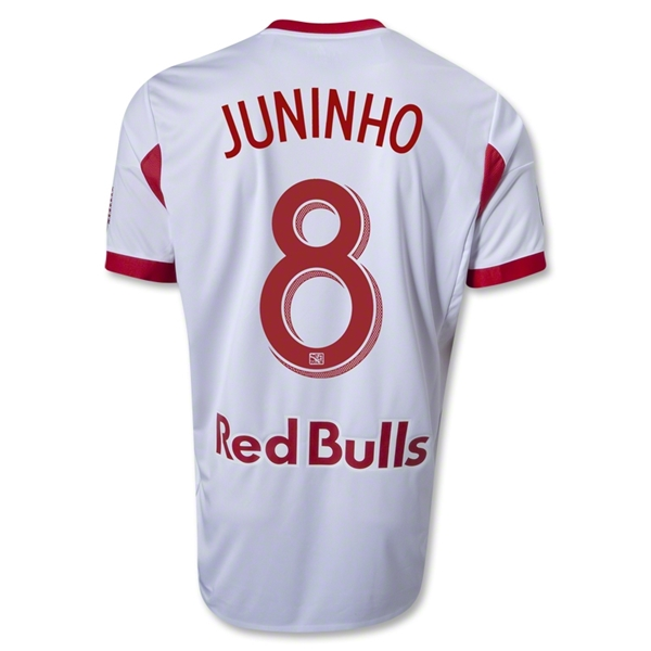 New York Red Bulls 2013 JUNINHO Authentic Primary Soccer Jersey