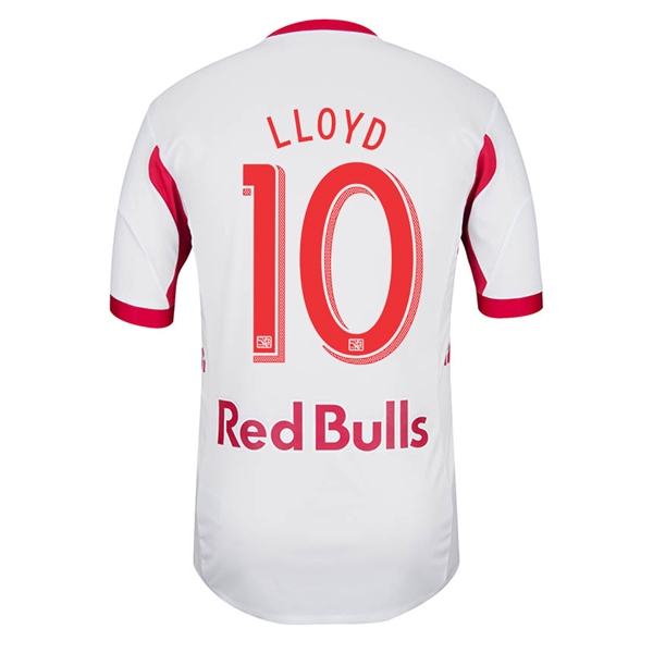 New York Red Bulls 2014 LLOYD Authentic Primary Soccer Jersey