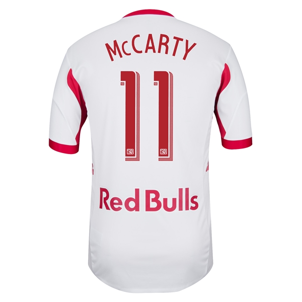 New York Red Bulls 2013 MCCARTY Authentic Primary Soccer Jersey