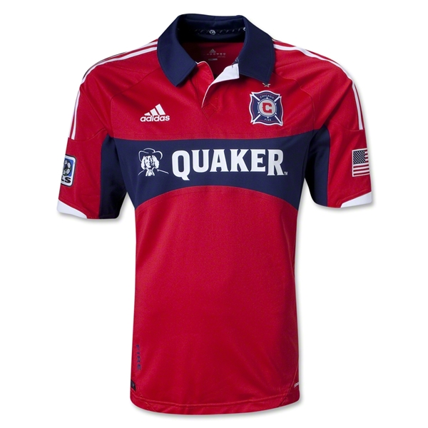 Chicago Fire 2013 Authentic Home Soccer Jersey