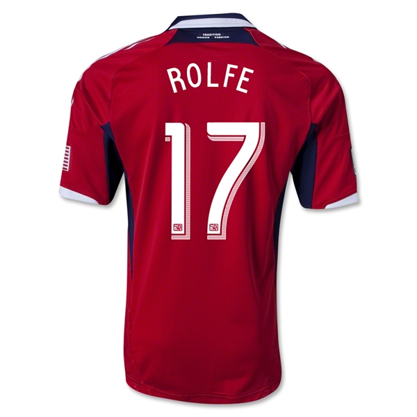 Chicago Fire 2013 ROLFE Authentic Primary Soccer Jersey