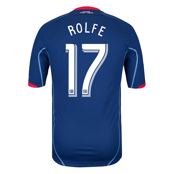 Chicago Fire 2014 ROLFE Authentic Secondary Soccer Jersey