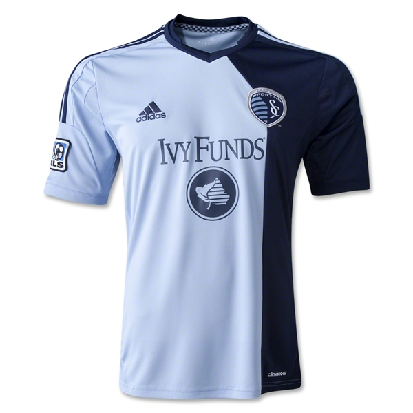 Sporting KC 2014 Primary Soccer Jersey