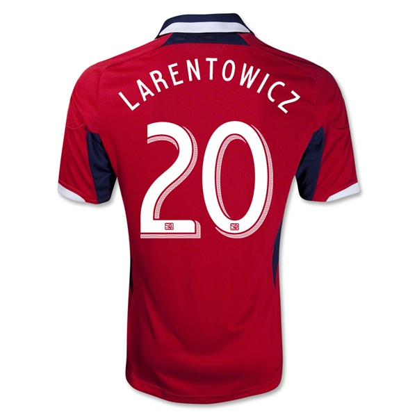 Chicago Fire 2013 LARENTOWICZ Primary Soccer Jersey