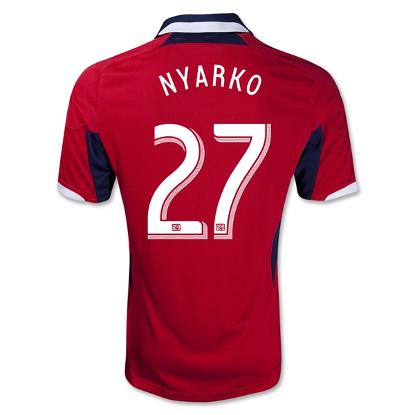 Chicago Fire 2013 NYARKO Primary Soccer Jersey
