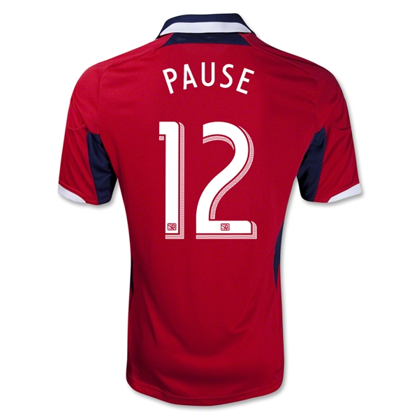 Chicago Fire 2013 PAUSE Primary Soccer Jersey
