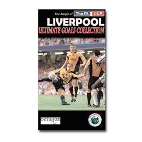Liverpool Ultimate Goals Soccer DVD Collection