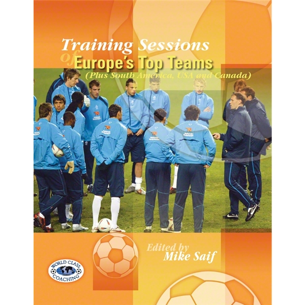 Training Sessions of Europe & EPL Teams Soccer Book Combo Set