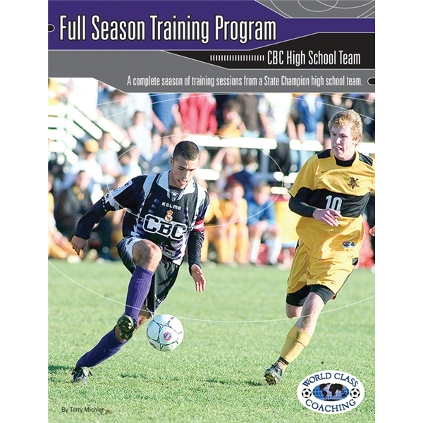 Full Season Training Program-Elite Team Soccer Book
