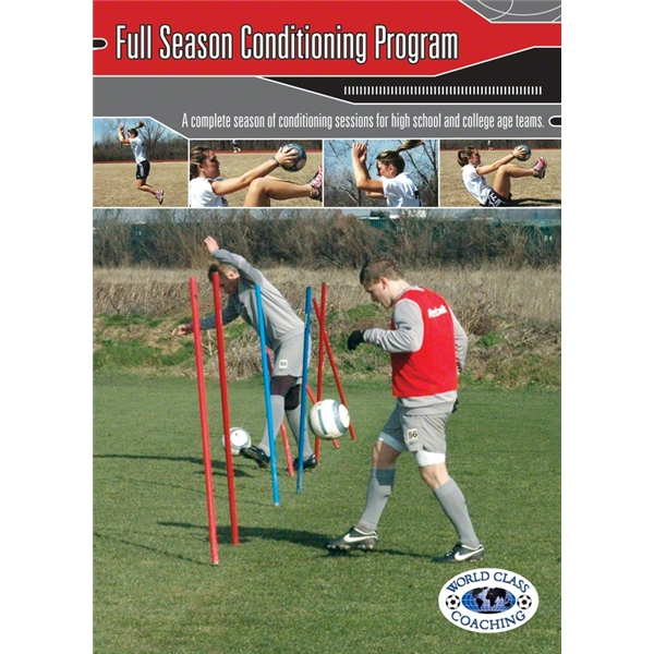 Full Season Conditioning Program Soccer Book