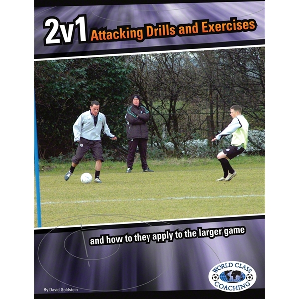 2 v 1 Attacking Drills Soccer Book