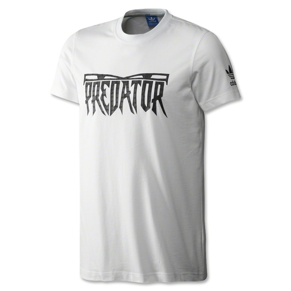 adidas Originals Predator T-Shirt (White)