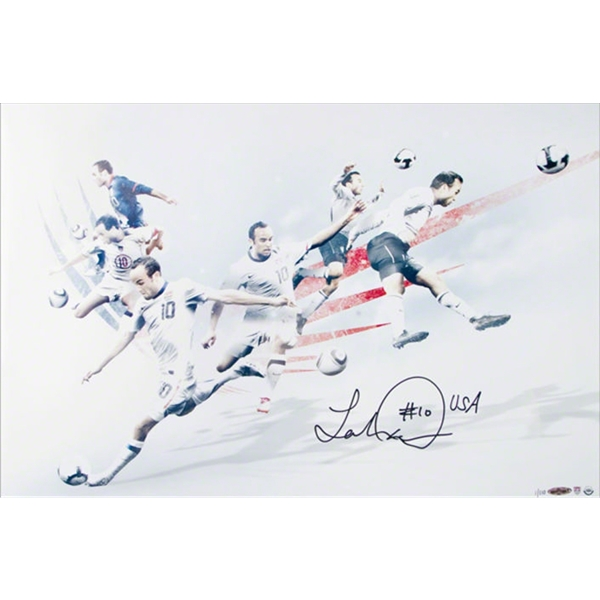 Upper Deck Landon Donovan Autographed USA The American Photo Collage