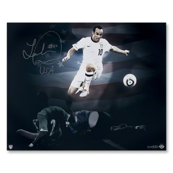 Landon Donovan Autographed Team USA