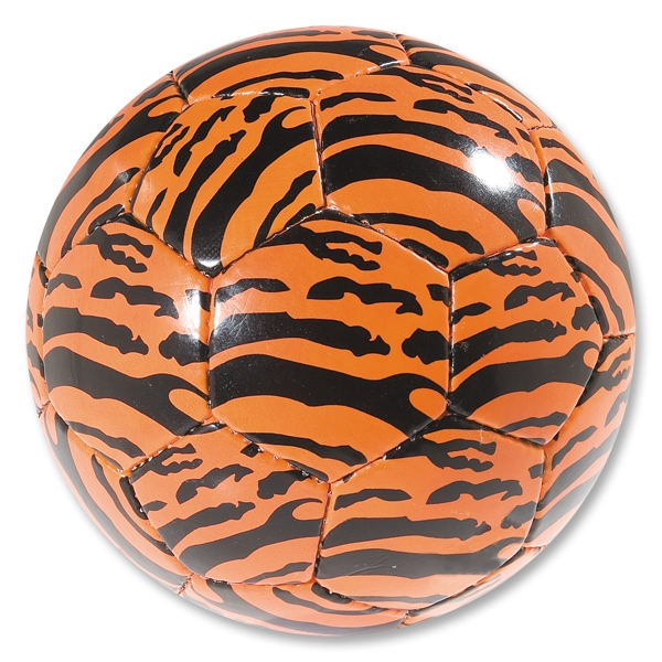 Safari Soccer Ball (Orange/Black)