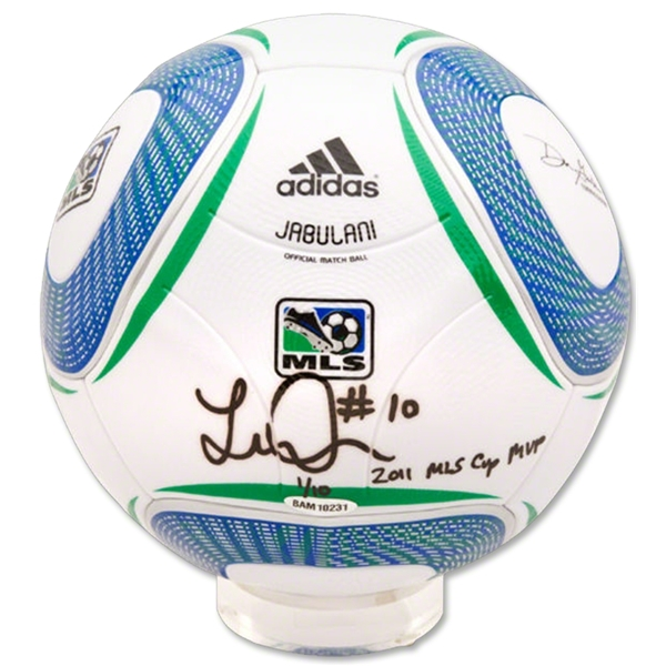Upper Deck Landon Donovan Autographed MLS Official Match Soccer Ball w/ MVP Inscription