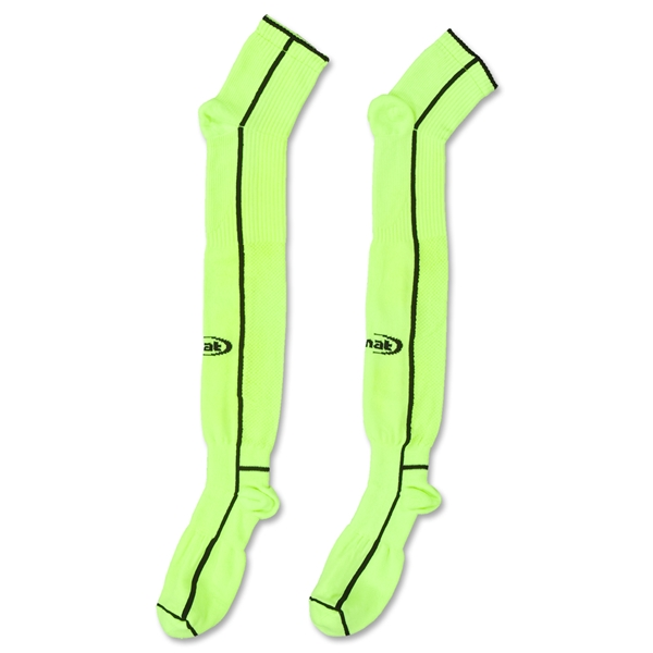 Rinat Calero Goalkeeper Sock (Neon Yellow)