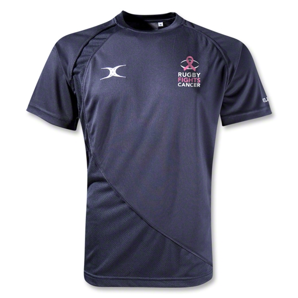 Rugby Fights Cancer Pro V2 Performance T-Shirt (Navy)