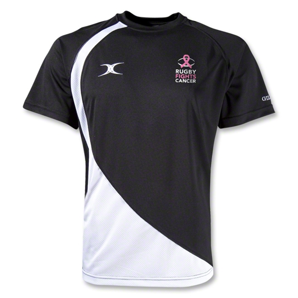 Rugby Fights Cancer Pro V2 Performance T-Shirt (Black/White)
