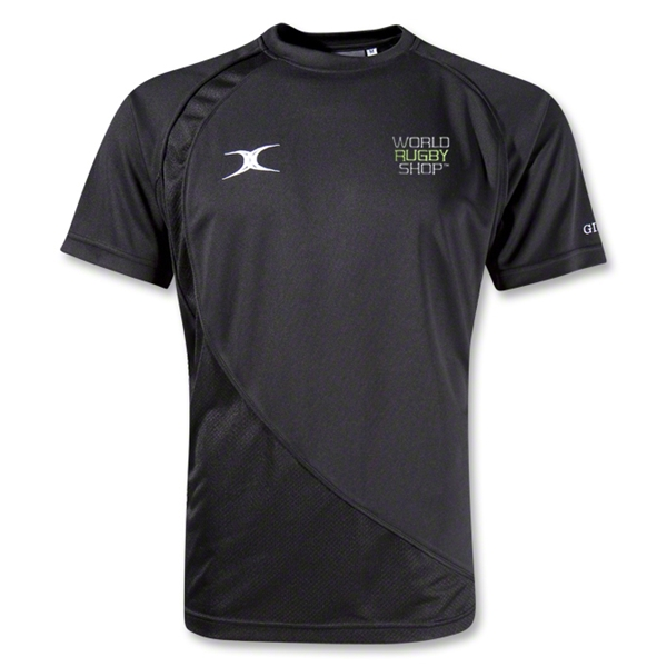Gilbert World Rugby Shop Pro V2 Performance T-Shirt (Black)
