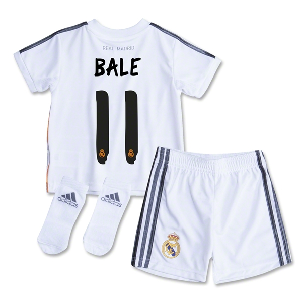 Real Madrid 13/14 BALE Home Baby Kit