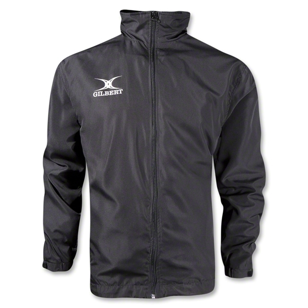 Gilbert Full Zip Rain Jacket (Black)