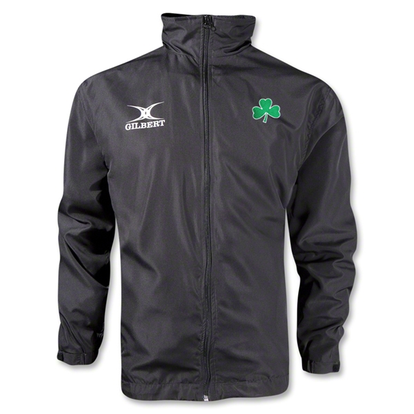 Shamrock Full Zip Rain Jacket (Black)