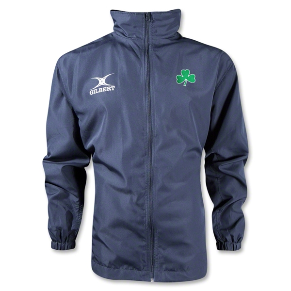 Shamrock Full Zip Rain Jacket (Navy)